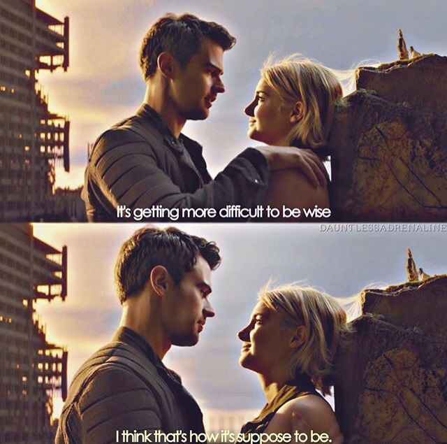 Allegiant quote and feels!