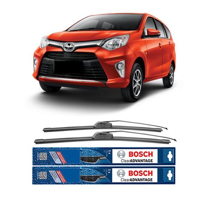 "Bosch Sepasang Wiper Frameless Clear Advantage Mobil Toyota Calya 20"" & 14"" - 2 Pcs/Set  Frameless Umur Pakai & Daya Tahan Lebih Lama Penyapuan kaca yang senyap Performa Sapuan Optimal Instalasi Mudah & Cepat Original Produk Bosch  http://klikonderdil.com/frame-less/1238-bosch-sepasang-wiper-frameless-clear-advantage-mobil-toyota-calya-20-14-2-pcsset.html  #bosch #wiper #jualwiper #frameless #toyotacalya"