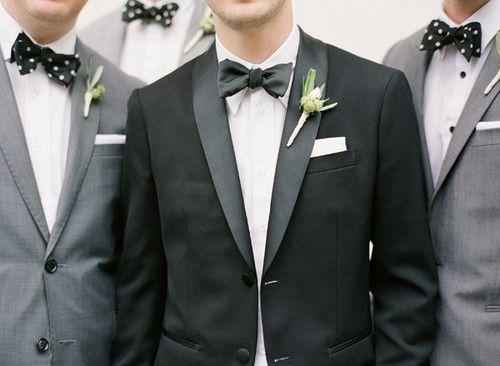spotty usher bow ties