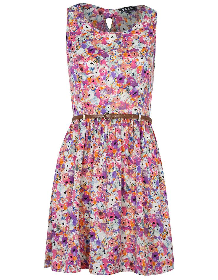 Heart and Soul Floral Sundress