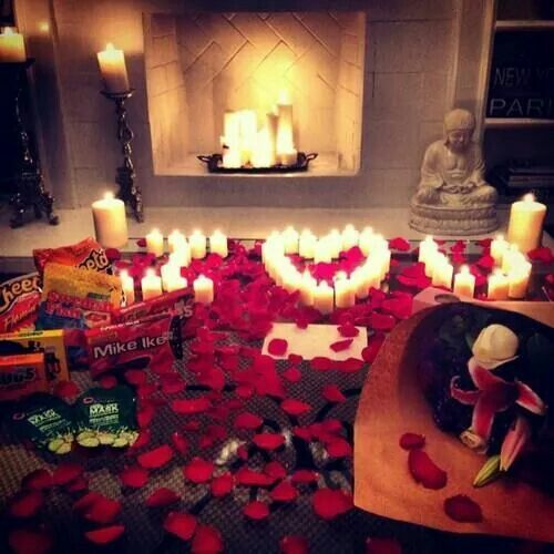 Romantic ideas to do for him