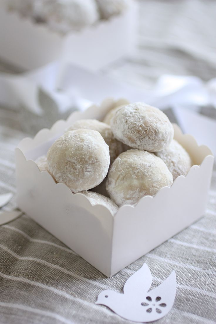Italian Wedding Cookies - by For The Feast - 3/6 - Where food is an experience and life is an adventure