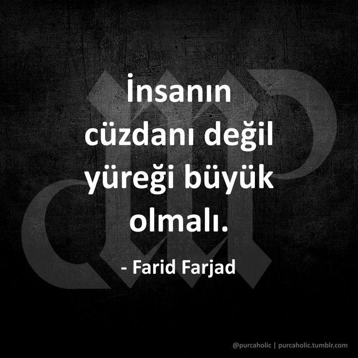 İnsanın cüzdanı değil yüreği büyük olmalı.   - Farid Farjad  #faridfarjad #fars #keman #müzisyen #müzik #cüzdan #yürek #sözler #anlamlısözler #güzelsözler #manalısözler #özlüsözler #alıntı #alıntılar #alıntıdır #alıntısözler #şiir #siir #edebiyat #augsburg #münchen #ulm #stuttgart #frankfurt #istanbul #ankara #izmir