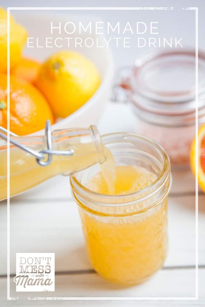 Homemade Citrus Electrolyte Drink Recipe With Images Electrolyte Drink Homemade Electrolyte Drink Electrolyte Drink Recipe
