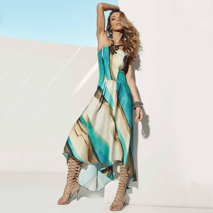 Como não se inspirar e sentir em um verdadeiro paraíso com esse dress {DESEJO} da nova coleção cápsula {I Wish...} ✨ Paradise?! #reginasalomao #iWISH #paradise #summer #fashion #amazing #smile #sun