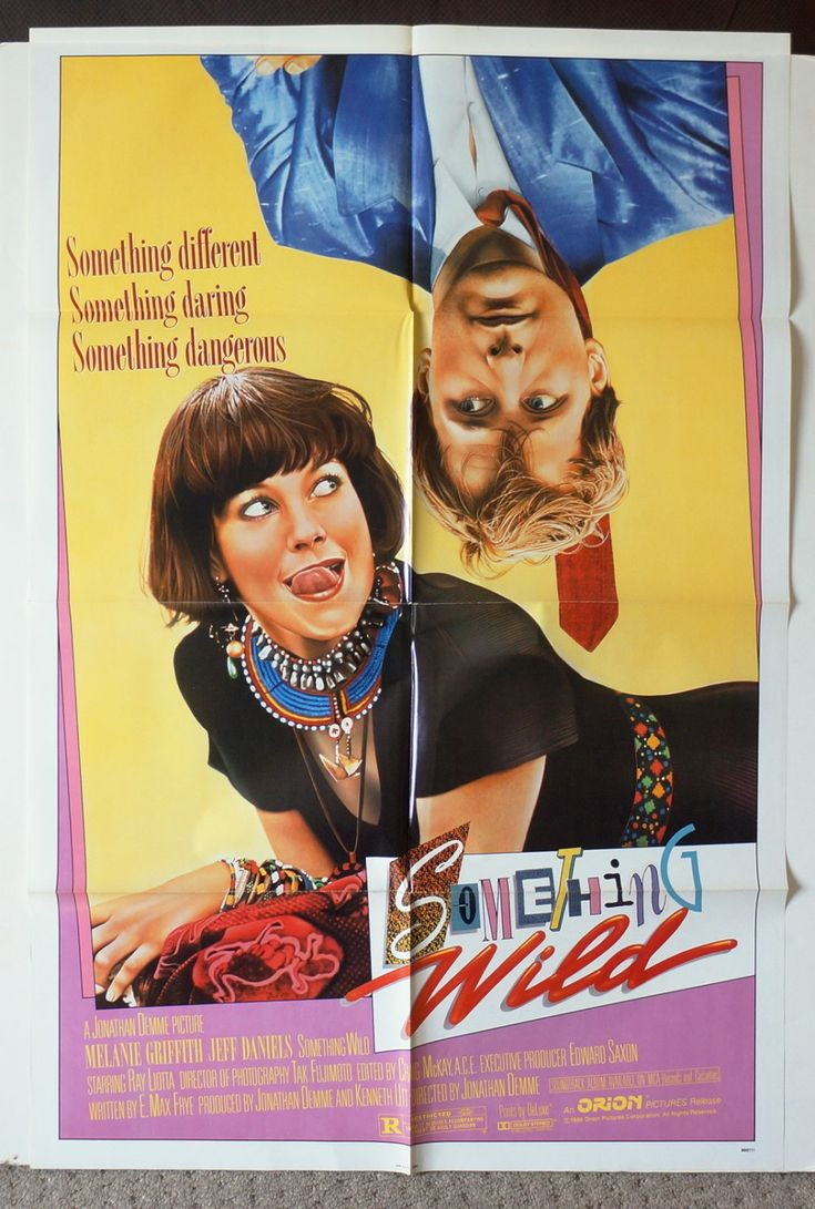 Excited to share the latest addition to my #etsy shop:  Something Wile Movie Poster  Original 1983 Movie Poster One-Sheet -  Jeff Daniels Melanie Griffith Ray Liotta  http://etsy.me/2BgoCzd