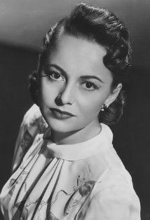 """Olivia de Havilland (aka Olivia Mary de Havilland) - (1916 - ) British-American Actress - Won 2 Academy Awards for Best Actress - """"The Heiress"""" 1950 & """"To Each His Own"""" - 1947 - Nominated 2 x for Best Actress """"The Snake Pit"""" 1949 & """"Hold Back the Dawn 1942 and Best Supporting Actress - """"Gone With the Wind"""" 1940"""
