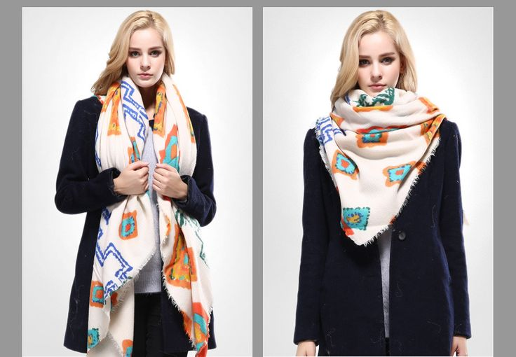 Newest Design Shawls and Scarves for Women Bandana Luxury Scarf Winter Brand Square Soft Cotton Scarf Woman