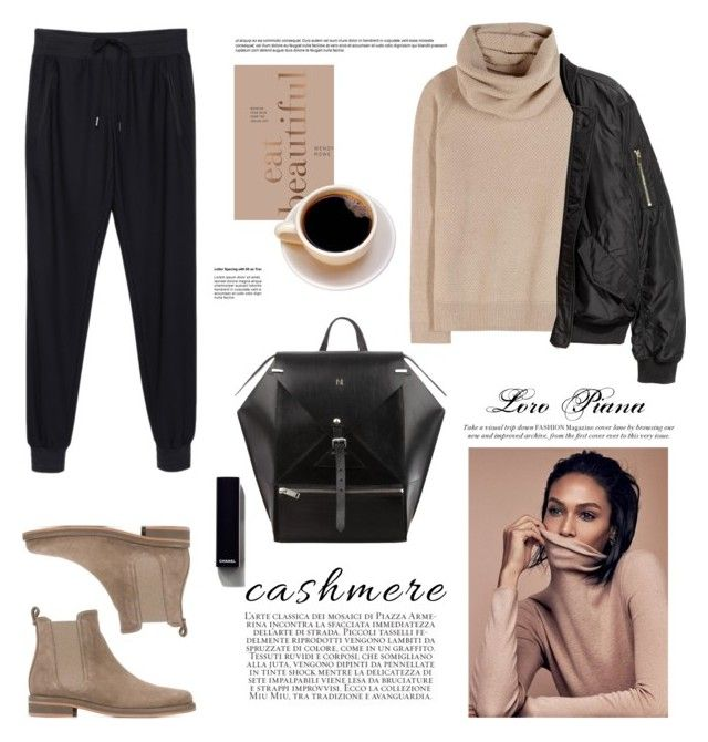 The Loro Piana Cashmere Sweater by barngirl on Polyvore featuring polyvore fashion style Loro Piana rag & bone Chanel Bookspeed clothing