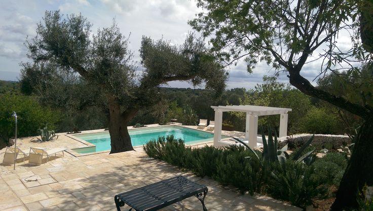 TrulliRoccia, a beautifully restored 3 bedroom, 3 bathroom trulli for rent, with private swimming pool, pizza oven, WiFi, in countryside of Ostuni Puglia Italy. www.homeaway.co.uk/p1406277 #trulliforrent #TrulliVistas #UniqueHolidayHomes #Ostuni #Puglia #weareinpuglia #escapetoitaly #archilovers #RomanticItaly #ItalianVillas
