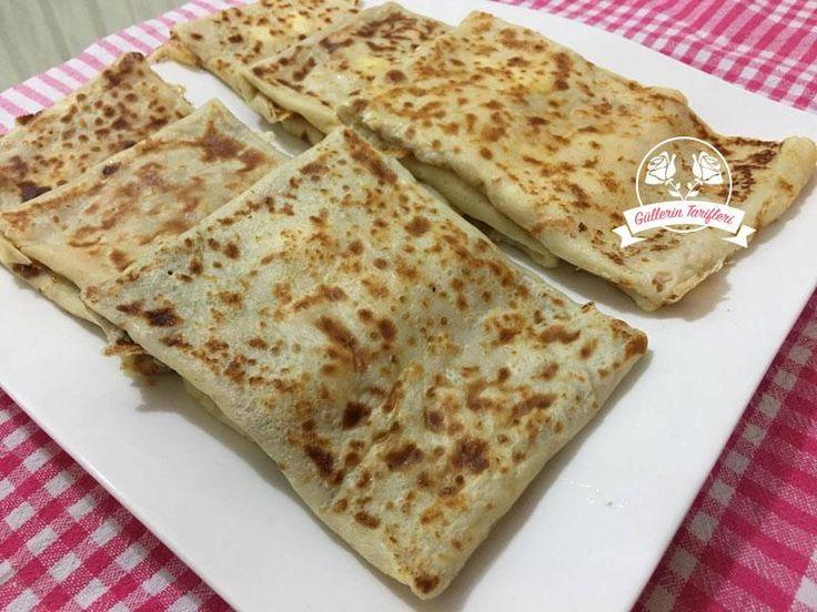 Peynirli Krep Tarifi | Güllerin Tarifleri