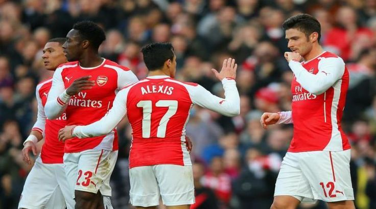 Arsenal 2 Middlesbrough 0: Giroud at the double as holders progress