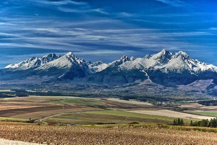 High Tatras - spectacular view from Kezmarok