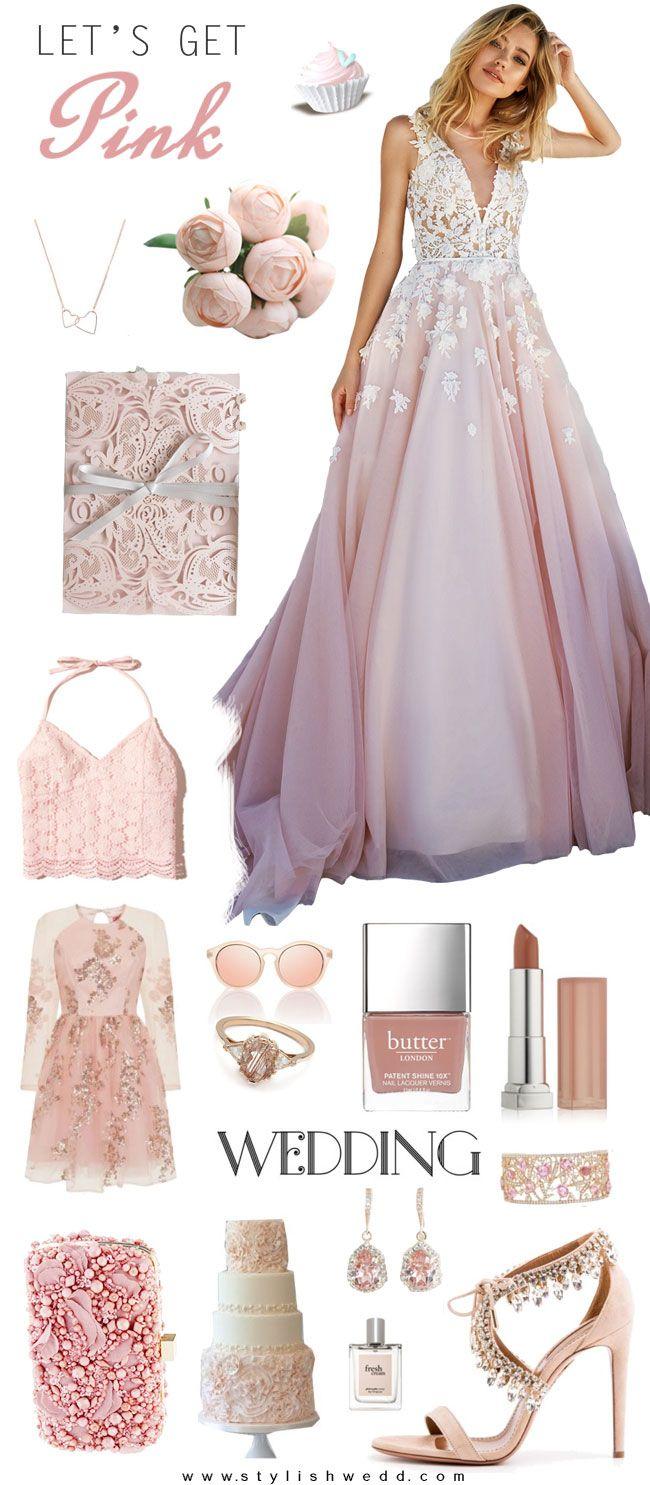 Blush Pink Wedding Inspiration
