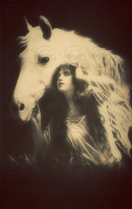 Digital Image Download of Beautiful Gypsy with от vintagescrapbox