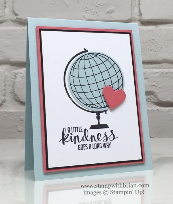 Places You'll Go, Kinda Eclectic, Stampin' Up!, Brian King
