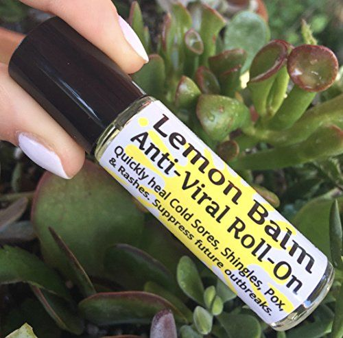 "LEMON BALM Cold Sore & Shingles ROLL-ON! 10 ml, Quickly soothe Blisters, Chicken Pox, Rashes, Herpes, Molluscum, Bug Bites. Suppress future outbreaks. 100% Natural. ""Goodbye, itchy red bumps!""  Quickly soothe Cold Sores, Shingles, Chicken Pox, Rashes, Bug Bites, Skin Wounds. Regular use will lessen outbreak frequency.  ""Goodbye, itchy red bumps!"" Lemon Balm is the most powerful natural, herbal remedy for the treatment of outbreaks.  Soothes sores by taking the fire and itch away. Drast..."
