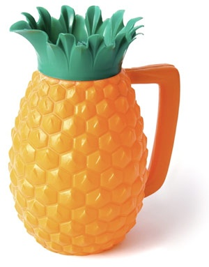 pineapple pitcher. For some reason, this makes me smile.