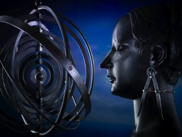 The Astronomer Woman