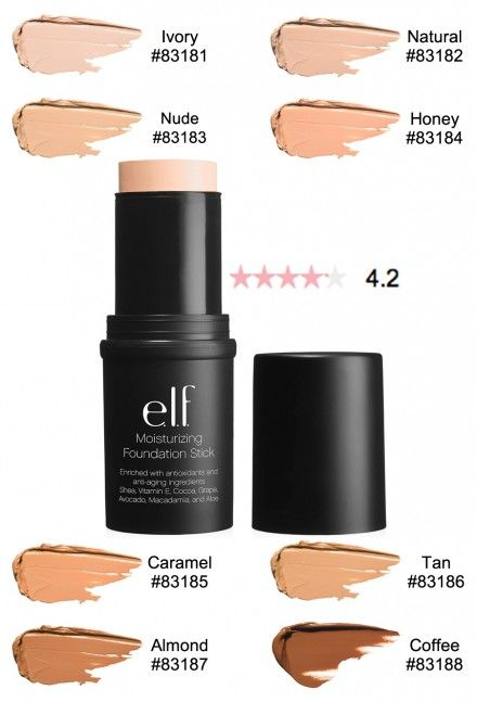 Elf Studio Moisturizing Foundation Stick #makeup