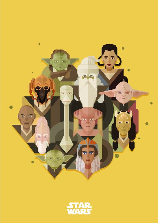Happy star wars day may the 4th be with you submission for Weekend art projects