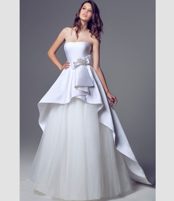 148 Best Long Wedding Dresses Images On Pinterest