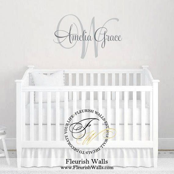 Personalized Childrens Wall Decal