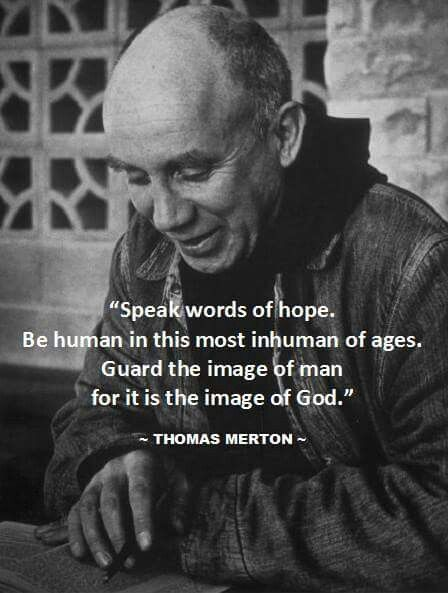 thomas merton writings Walt whitman, agnes martin, and thomas merton are three artists that i   writings again and again the practice leads me into the mystery.
