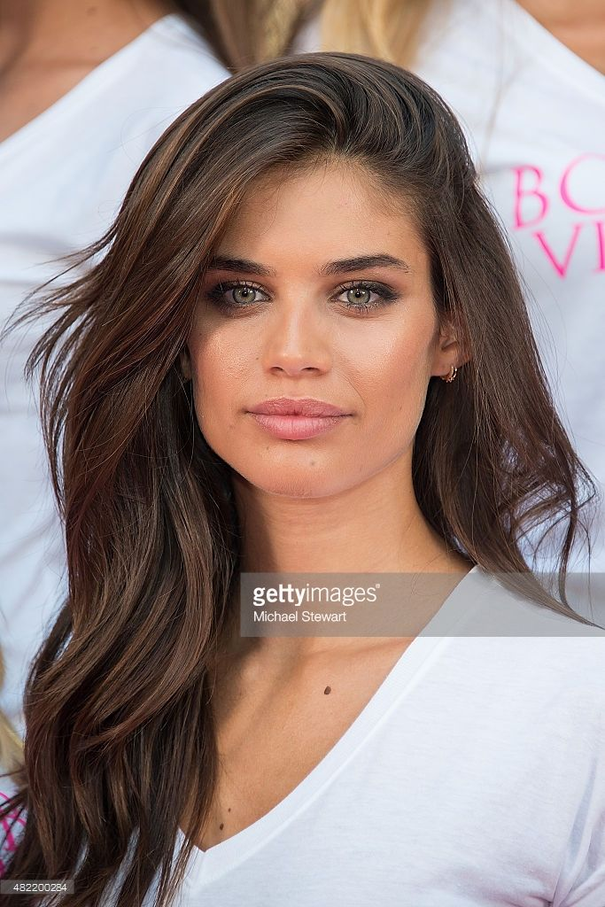 Model Sara Sampaio attend the Body By Victoria's Secret Campaign Launch at Military Island, Times Square on July 28, 2015 in New York City.