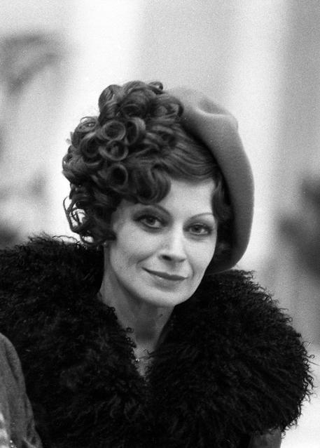 """Magali Noël as Gradisca in """"Amarcord"""" (1973). Director: Federico Fellini."""