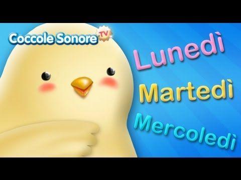 La canzone dei giorni della settimana - Canzoni per bambini di Coccole Sonore - YouTube