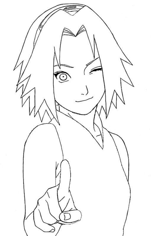 Desenhos para colorir do Naruto: 40 opções para imprimir ...