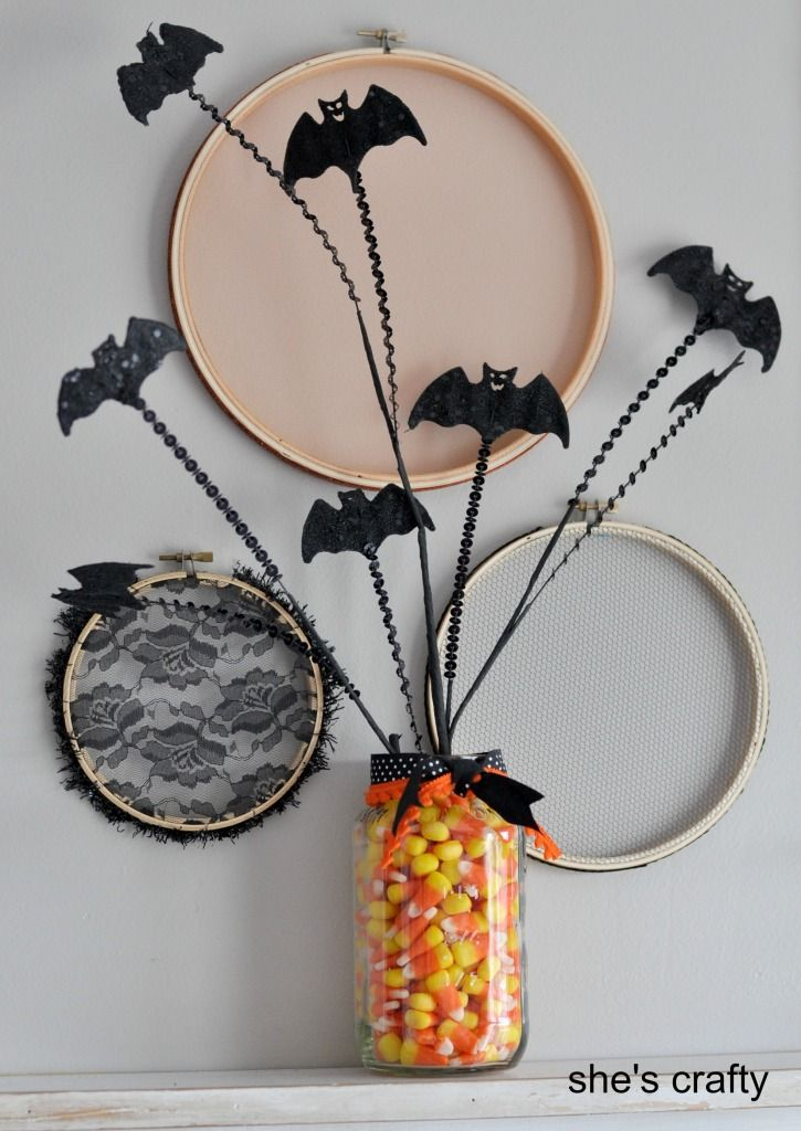 17 best images about manualidades halloween de decoraci n for Decoracion de halloween