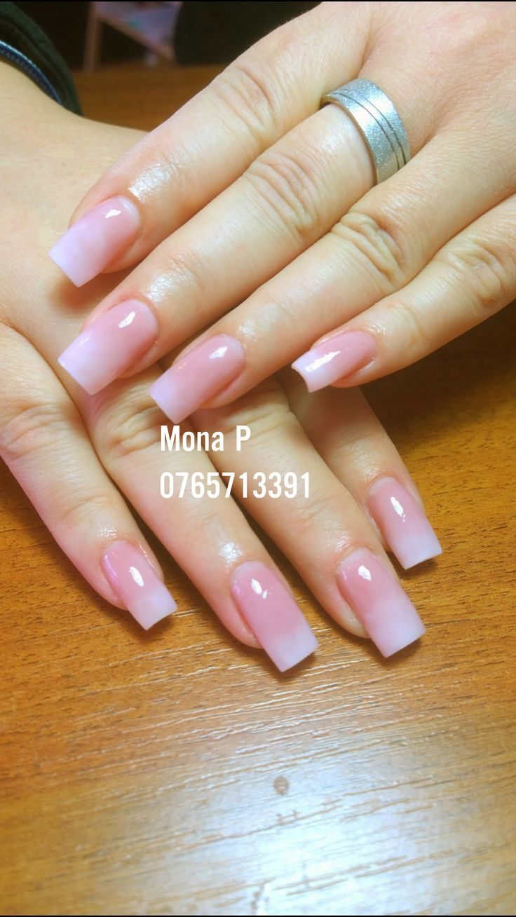 About baby boomer nail art tutorial by nded on pinterest nail art - Baby Boomer Gel Uv Nail Art