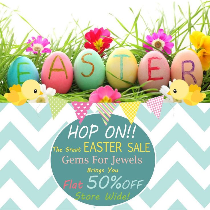 Welcome Spring!! Gemsforjewels wishes you a crackling Easter and a warm welcome to spring with its latest collection in diamonds and gemstones. Unique and Rare items never seen before is what is out forte!! Crack the flat 50% sale till it lasts.. Hurry!