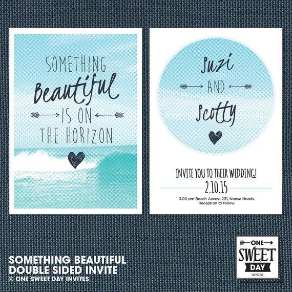 Best 25 Beach wedding invitations ideas on Pinterest Beach