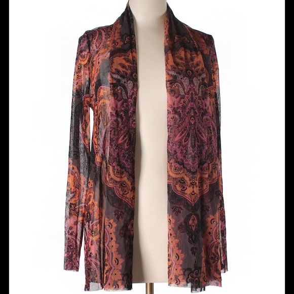 Gorgeous INC Kimono Gorgeous INC Kimono 100% Nylon. Throw on a pair of jeans, a tank and this Kimono, for a classy Casual look, or dress up with a skirt and heels! So Versatile and Like New! INC International Concepts Jackets & Coats