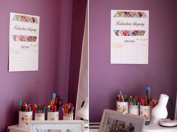 DIY: Blogging calendar