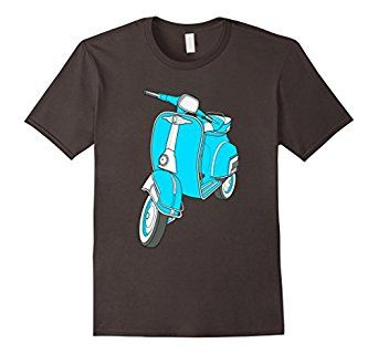 Classic Italian Vintage Retro Scooter Moped Mods T-Shirt  #scooter #mods #mod #retro #vintagescooter #retroscooter #moped #tee #shirt #motorcycle #motorbike #bike #hipster #hip #citylife