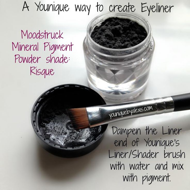 Water is a great way to make eyeliners with our Younique pigment's. But what is even better is the Rose Water...Why??? When you just use water it tends to dry and clump and fall on your cheek's...who want's that? Not this girl!!! The Rose Water makes them creamy and will not clump or fall on your cheek's! Not to mention it does wonders on mosquito bites : ) Try some today! You will not be disappointed!! www.joellegolany.com