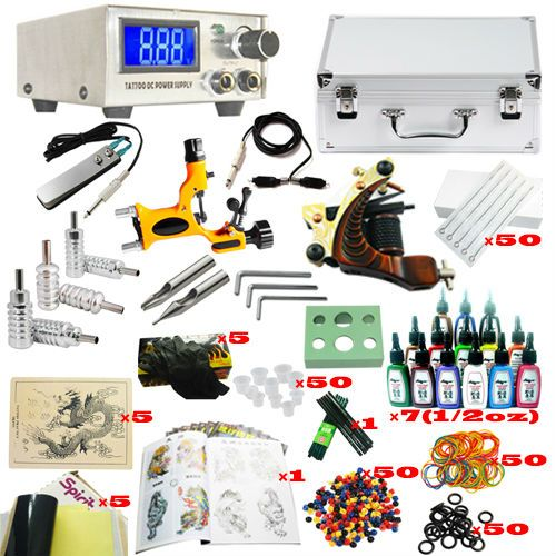 professional complete rotary tattoo machine tattoo kit
