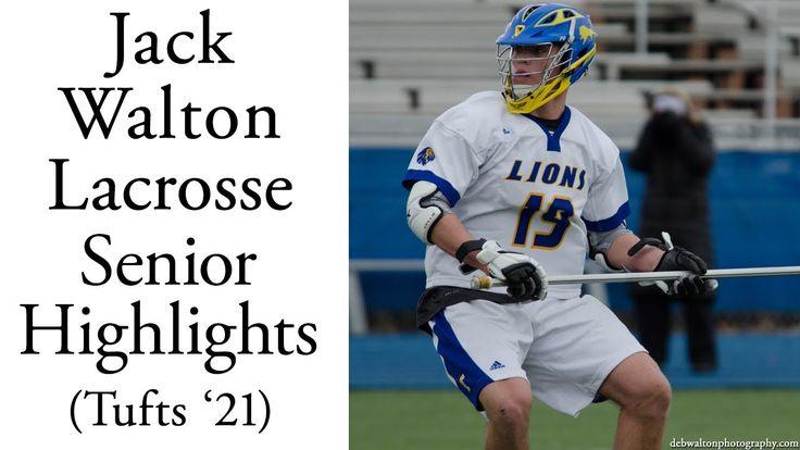 Jack Walton Lacrosse Senior Highlights 2017 (Tufts '21)