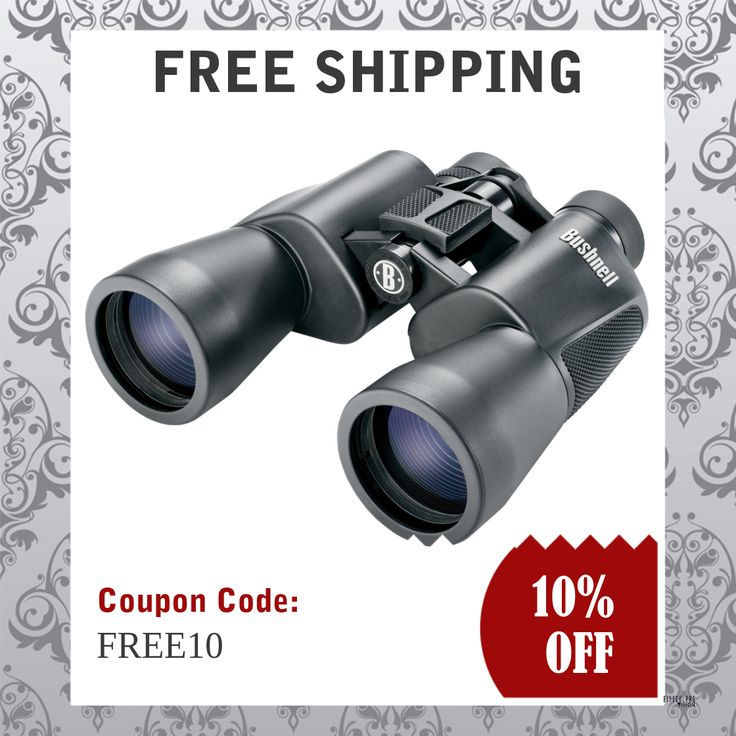 Bushnell High-Powered Surveillance Binoculars 12x50mm | Binoculars Vision