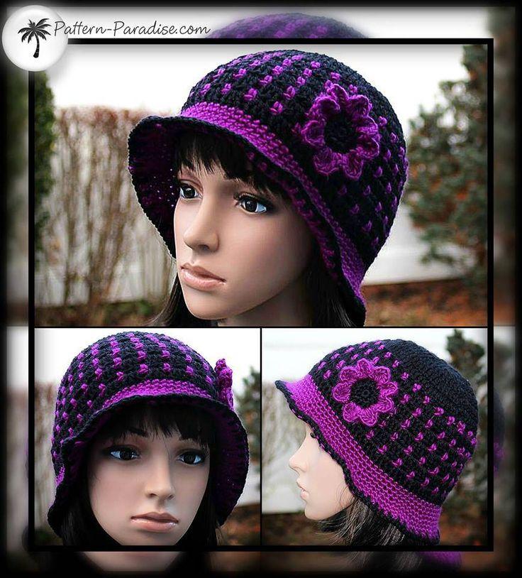 Rina Hat with brim    1488100_10202652741863644_905520169_n