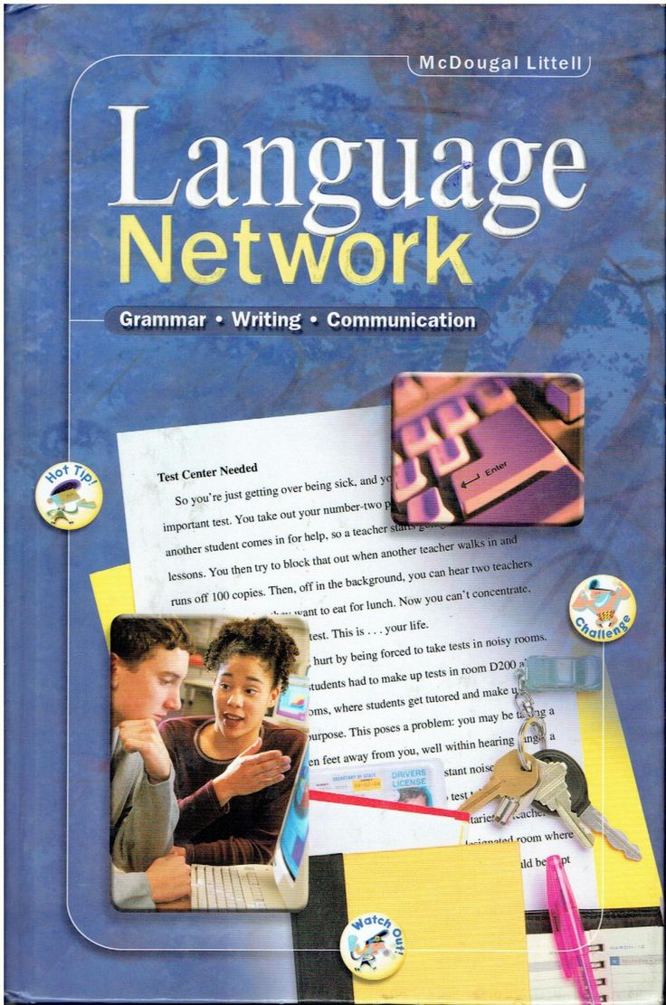 The 18 best la4 language arts high school images on pinterest mcdougal littell language network 10th grade high school 2001 book isbn 0395967406 la4 fandeluxe Choice Image