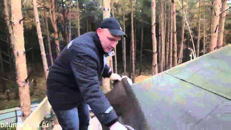 Монтаж кровли Тегола - подробная видео инструкция
