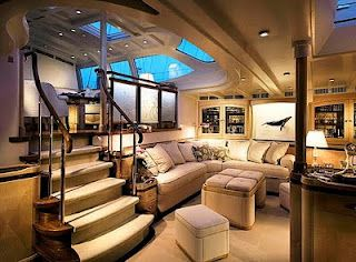 One day, if we have a small space, we could design a yacht interior. :D (ignore overly expensive-looking ceiling.)