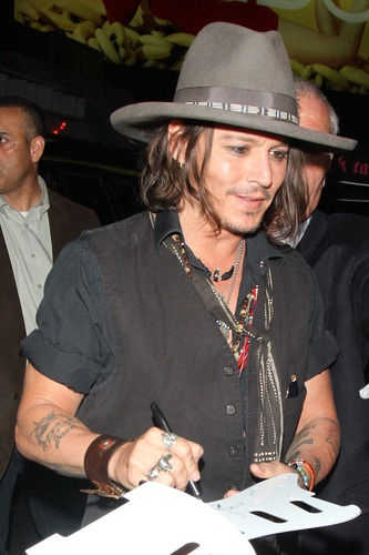 Image detail for -Personally, I'm not surprised to hear that Johnny Depp is launching a book publishing imprint called Infinitum Nihil (part of HarperCollins). Depp has always been the ...