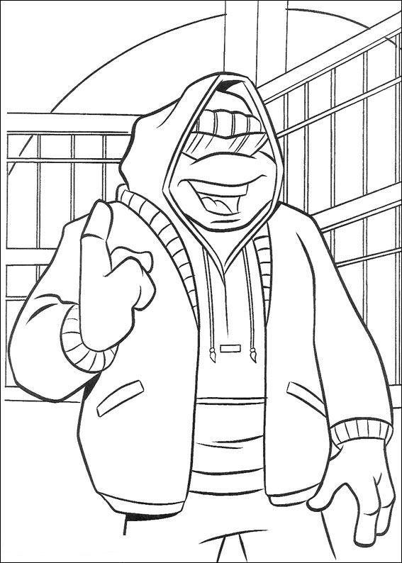 Ausmalbilder Ninja Turtles Zum Ausdrucken Ninja Turtle Coloring Pages Turtle Coloring Pages Cartoon Coloring Pages