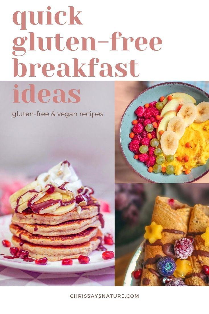 Simple Easy Breakfast Ideas Easy Delicious Vegan Gluten Free Breakfast Recipes In 2020 Recipes Gluten Free Recipes For Breakfast Gluten Free Breakfast Easy